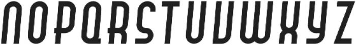 Hamburger Hop Italic otf (400) Font UPPERCASE