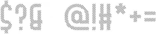 Hamburger Hop Lines R otf (400) Font OTHER CHARS