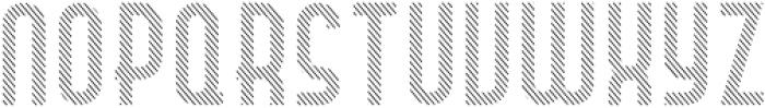 Hamburger Hop Lines R otf (400) Font UPPERCASE