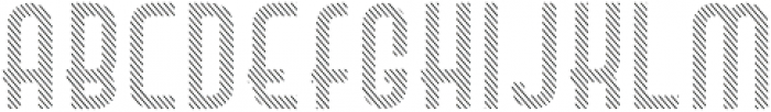 Hamburger Hop Lines R otf (400) Font LOWERCASE