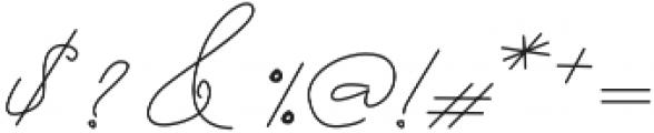 Hamidal otf (400) Font OTHER CHARS