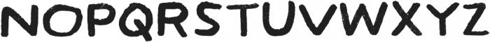 Hamilton Sans Painted Regular otf (400) Font UPPERCASE