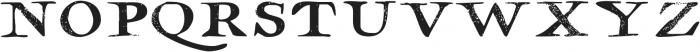 Hamilton Serif SVG ttf (400) Font LOWERCASE