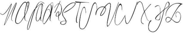 Hammock ttf (400) Font UPPERCASE