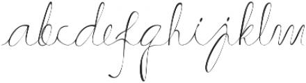Hammock ttf (400) Font LOWERCASE