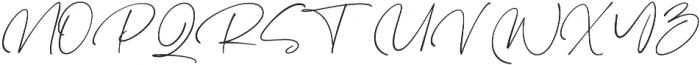 Hampshire otf (400) Font UPPERCASE