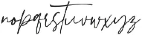 Hampshire otf (400) Font LOWERCASE