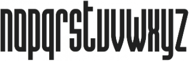 Hanca Regular otf (400) Font LOWERCASE