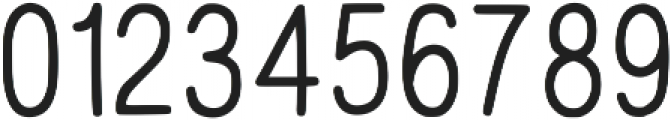 Hand Draw Sans Serif Regular otf (400) Font OTHER CHARS