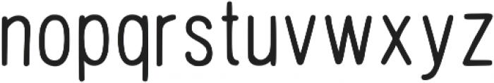 Hand Draw Sans Serif Regular otf (400) Font LOWERCASE