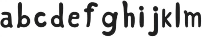 Hand Drawn Bold Font Regular ttf (700) Font LOWERCASE