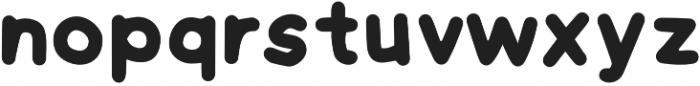 Hand Grotesk Bold otf (700) Font LOWERCASE
