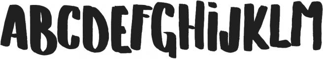 Hand Originals ttf (400) Font UPPERCASE