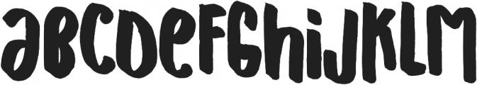 Hand Originals ttf (400) Font LOWERCASE