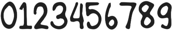 Hand Rock Letter Regular otf (400) Font OTHER CHARS
