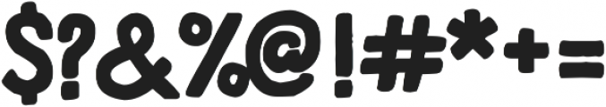 HandDeco Bold ttf (700) Font OTHER CHARS