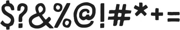 HandDeco Regular ttf (400) Font OTHER CHARS