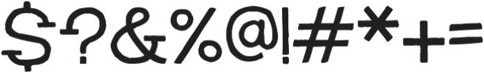 HandSlab-Regular ttf (400) Font OTHER CHARS
