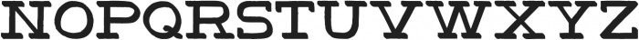 HandSlab-Shadow otf (400) Font UPPERCASE