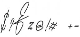 HandWriting otf (400) Font OTHER CHARS