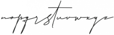 HandWriting otf (400) Font LOWERCASE