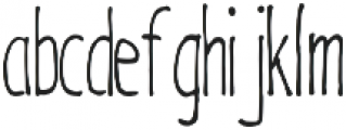 Hand_Drawn_Hipster_Font otf (400) Font LOWERCASE