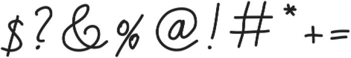 Handa ttf (400) Font OTHER CHARS