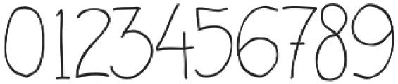 Handdraw Quaver otf (400) Font OTHER CHARS
