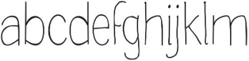 Handdraw Quaver otf (400) Font LOWERCASE