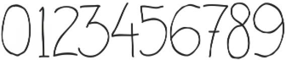 Handdraw Rafka ttf (400) Font OTHER CHARS