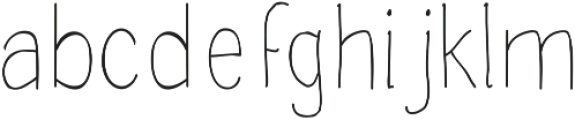 Handdraw Rafka ttf (400) Font LOWERCASE