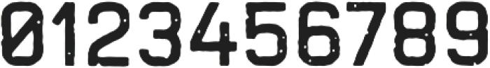 Handelson Five otf (400) Font OTHER CHARS