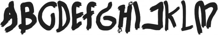 Handhayani otf (400) Font UPPERCASE