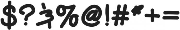 Handie Sans Bold Handie Sans Bold ttf (700) Font OTHER CHARS