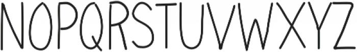 Handie Sans Cond Thin Handie Sans Cond Thin ttf (100) Font UPPERCASE