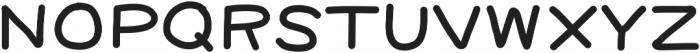 Handie Sans Fat Bold Handie Sans Fat Bold ttf (700) Font UPPERCASE
