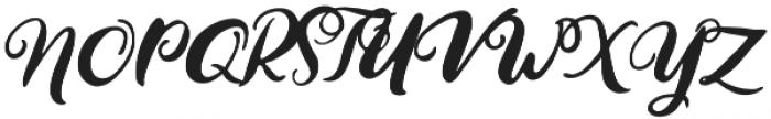 Handmaid Solid Solid otf (400) Font UPPERCASE