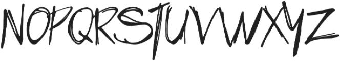 HandsUp otf (400) Font UPPERCASE