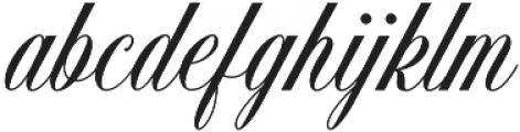 Handsome Script Bold otf (700) Font LOWERCASE