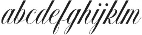 Handsome Script otf (400) Font LOWERCASE