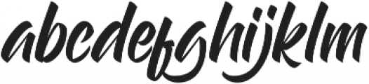 Handstyles Alternate otf (400) Font LOWERCASE