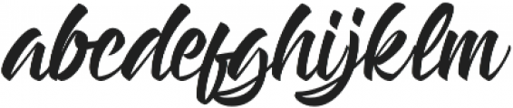 Handstyles otf (400) Font LOWERCASE
