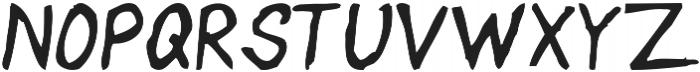 Handwritten Artem otf (400) Font UPPERCASE