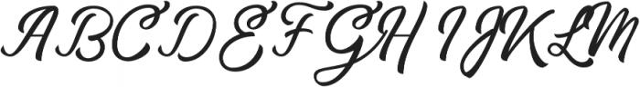 Handy Man otf (400) Font UPPERCASE