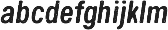 Handy Sans Condensed Distressed Oblique otf (400) Font LOWERCASE