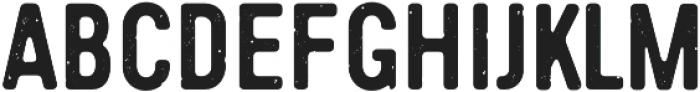 Handy Sans Condensed Distressed otf (400) Font UPPERCASE