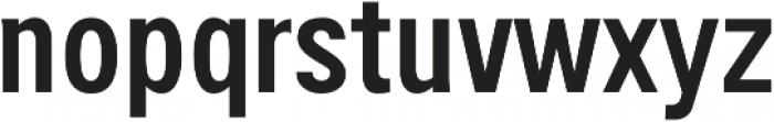 Handy Sans Condensed otf (400) Font LOWERCASE