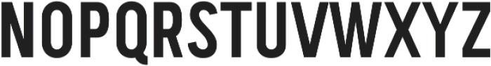 Handy Sans Condensed ttf (400) Font UPPERCASE