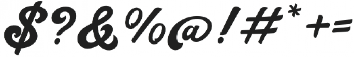 Handy Script otf (400) Font OTHER CHARS