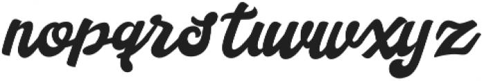 Handy Script otf (400) Font LOWERCASE